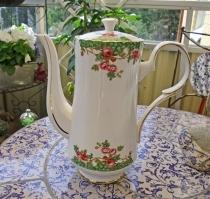 Kaffekanna Old English Garden